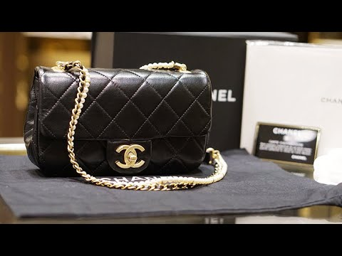 Chanel Super New Chanel Unboxing!  Chanel Flap Bag with Pearls
