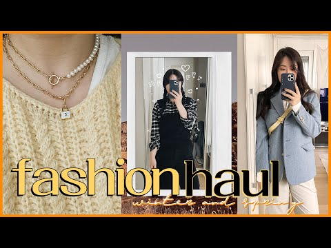 🌼 21 types of fashion howl products purchased in preparation for spring✨ (#Jogger pants restaurant YSTD/Maybe Baby&Zara&Minuet&Luxury Vintage Necklace)