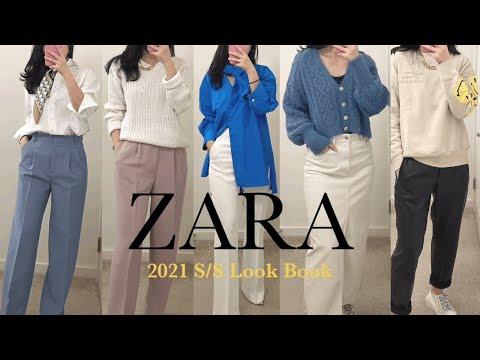 [ZARA] 2021 Spring New Howl /zara spring haul / Spring Look Book/Zara Shinsang/Daily Look/Fashion Howl/Key Little Girl Coordination