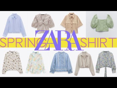 ZARA 2021 Zara春季推出9款新衬衫   Zara春季衬衫造型
