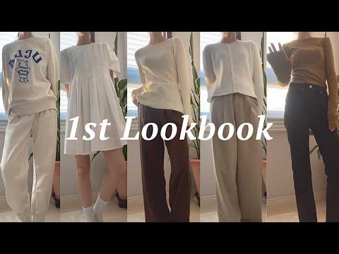 Lookbook S / S 2021 Sister Shopping Mall Bosses 10 координаты👚    Весенний новый лукбук • Kuankkook • Daily Look • Вертикальный лукбук • Координация со студентами колледжа • Fashion Howl    Женский торговый центр    Тенби8