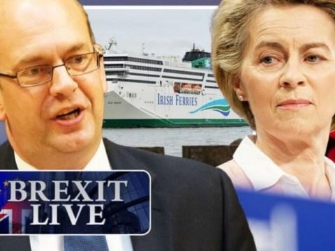 Brexit LIVE : EU 내부자들이 긴급 세관 U 턴을 계획하면서 승리