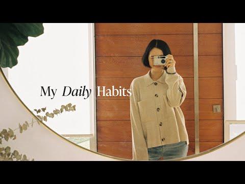 My Daily Habits Lookbook