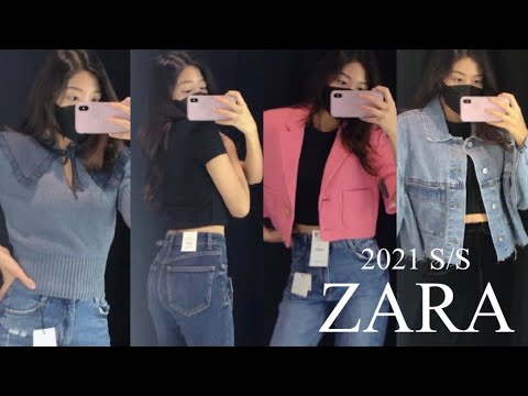 2021 ZARA's new image picked by a 22-year-old music college student?  /Bags, jeans, jackets, knitwear, tee!  🛍👛👖👕👚
