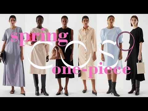 COS Course Introducing 9 new items that look like a spring breeze