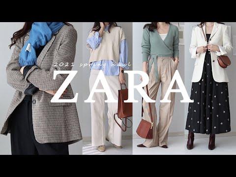 2021 Zara Spring New Howl🌼/Daily look good to wear from now to spring~/ZARA/zara haul/Blazer/Knit/One piece/2021 ss New product recommended item/Zarahaul/Fashion howl