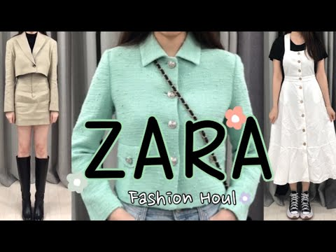 [Haul] 🧼Zara Soon Zara Howl / Try on a new spring🌸 / Daily Look Easy Look Basic Look / Spring Recommended Item / ZARA HAUL / ZARA 2021 SS HAUL