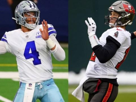 2021 년 NFL 일정 : Cowboys-Buccaneers, 1 주차 경기 시작