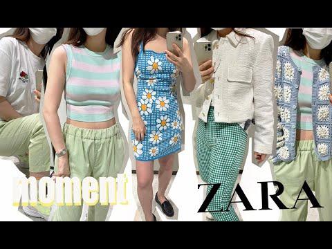 Zara Summer New Howl♥ Daily Zara Summer New ZARA Try on!  Zara Summer New Trion /Zara Dress/Zara T-shirt/Zara Jacket/Zara Fashion