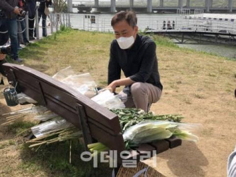 """Son Jung-min, teman, di video terakhir """"The Golden Gun is your fault""""  Apa artinya?"""