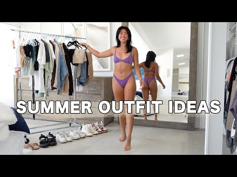 24 CASUAL SUMMER OUTFITS: Summer Fashion 2021 Lookbook + All The Trends!