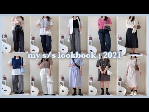 SUB) 10 types of daily human summer look in 157cm L size👕🤍 2021 s/s zutube lookbook