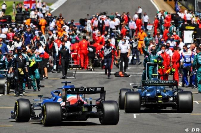 '7e, ce n'est pas satisfaisant': Rossi veut un changement de cap à Enstone pour 2022