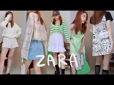 ZARA one brand fashion haul🐢 13 new summer dresses, bags, shorts, skirt pants, cardigans!  The one you like and the one I like..❤️