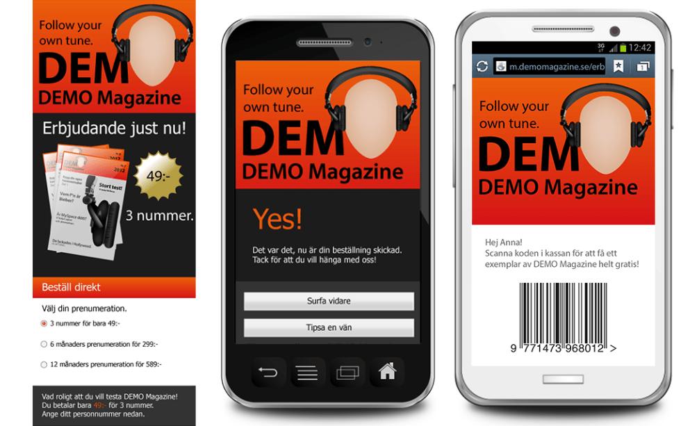 Demo-magazine