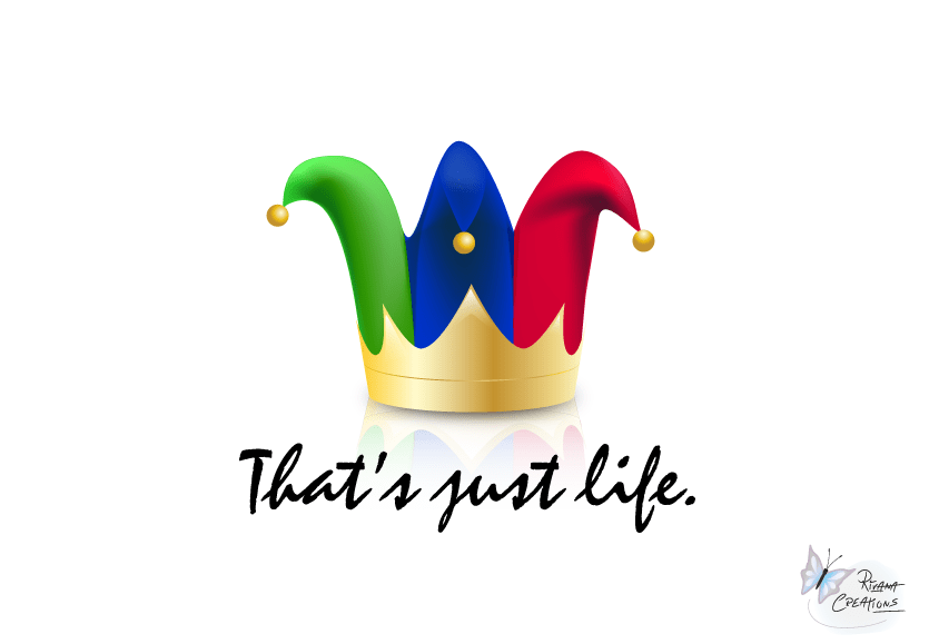 That's Just Life Vector Illustration