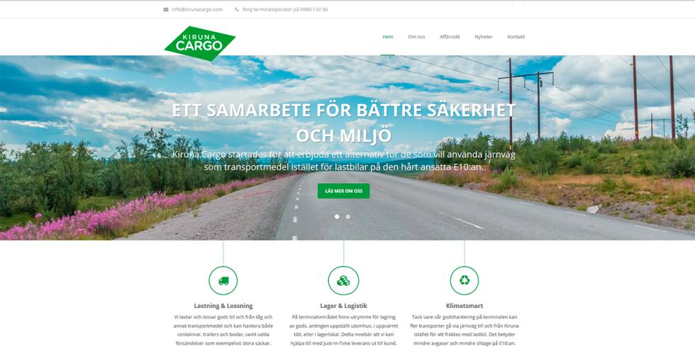Website-printscreen