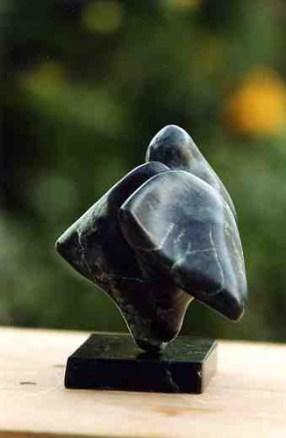 sculpture de Dominique Rivaux - Détente