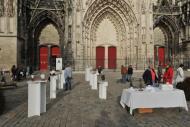 Cité des artistes - Dominique Rivaux - Cathédrale de Troyes