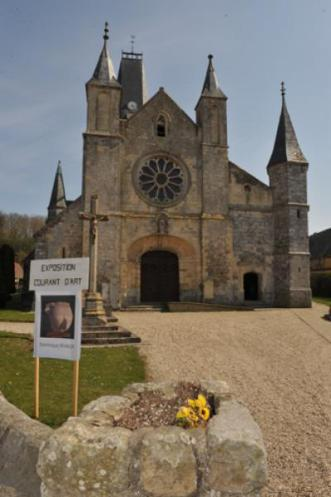 Eglise Le Bourg Dun - Normandie
