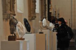 Sculptures - église Le Bourg Dun - Dominique Rivaux