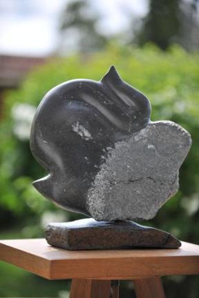 sculpture de Dominique Rivaux - éléphant