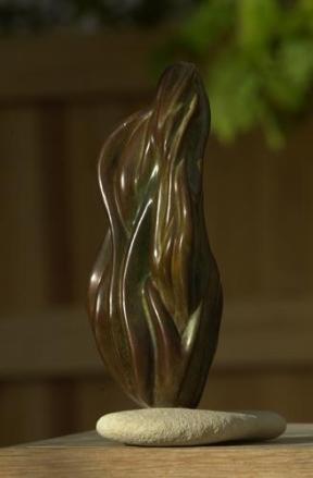 sculpture de flammes - Esprit-Saint - Dominique Rivaux
