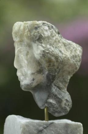 visage de femme mythologique - muse de Dominique Rivaux