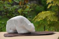 sculpture d'un ours