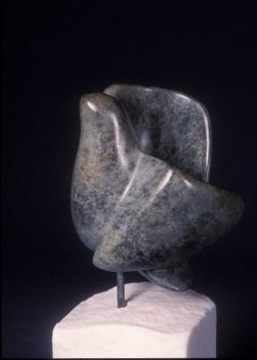 Sculpture en bronze - colombe - Dominique Rivaux