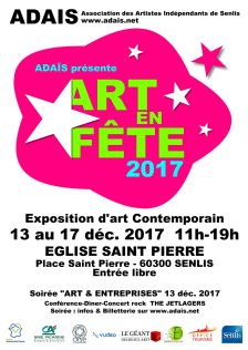 Evenement SENLIS ART EN FETE 2017