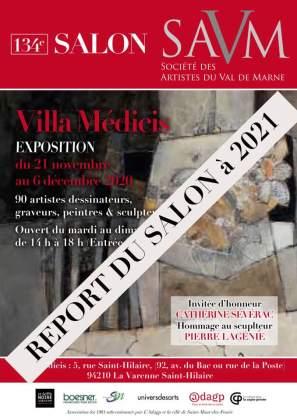 Affiche du SALON DES ARTISTES DU VAL DE MARNE 2020