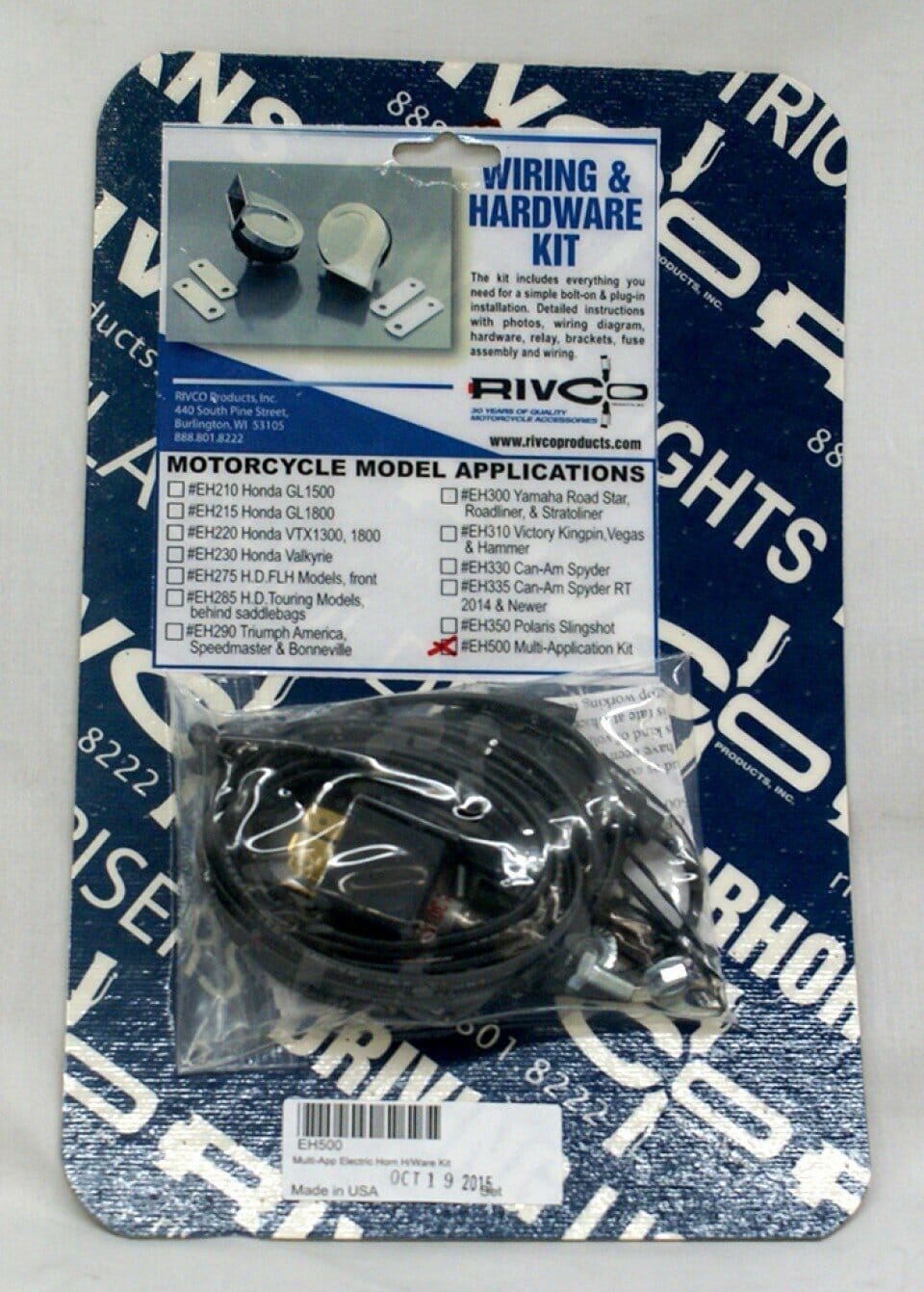 medium resolution of electric horn wiring kit multi application