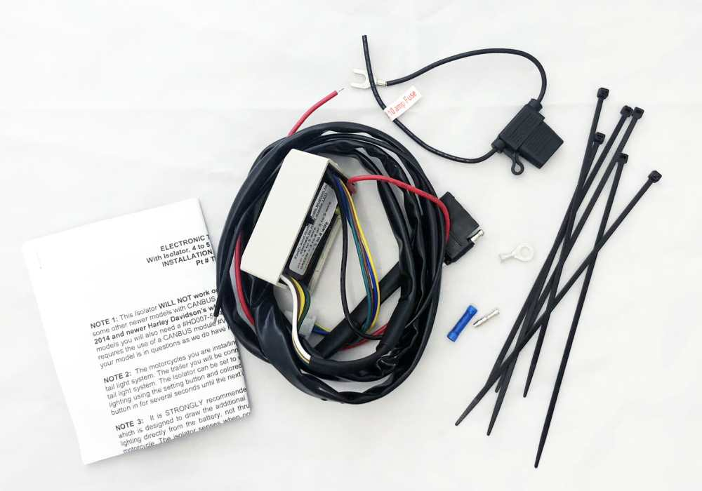 medium resolution of universal trailer wiring isolator twc003