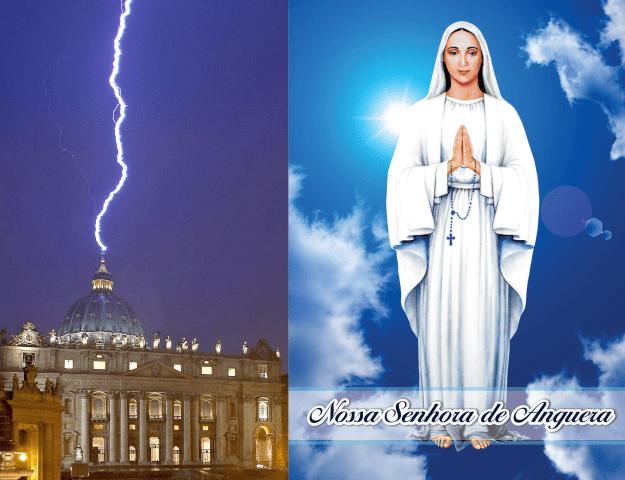 Profezie della Madonna di Anguera sulla Chiesa di Gesù