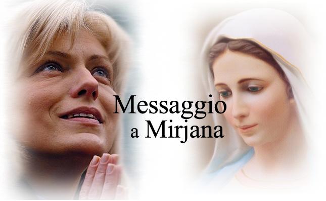 MESSAGGIO DI MARIA REGINA DELLA PACE DI MEDJUGORJE A MIRIJANA DEL 2 FEBBRAIO 2016