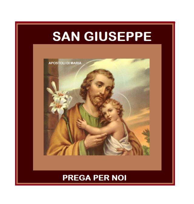 SAN GIUSEPPE PREGA PER NOI