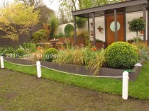 Alfresco Gallery Garden. Designer Paul Melvin. Sponsor South Wales Turf and Topsoil.