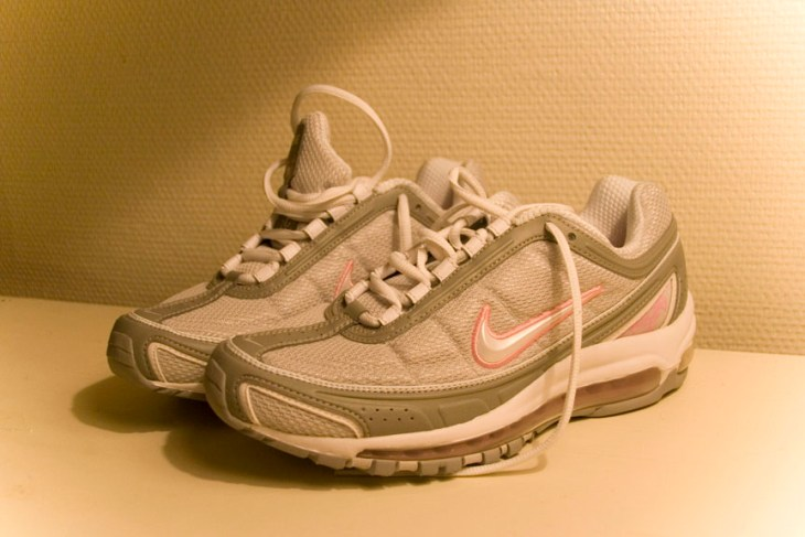 Running Shoes as a metaphor for starting over. From https://www.flickr.com/photos/kekka/2156502674/