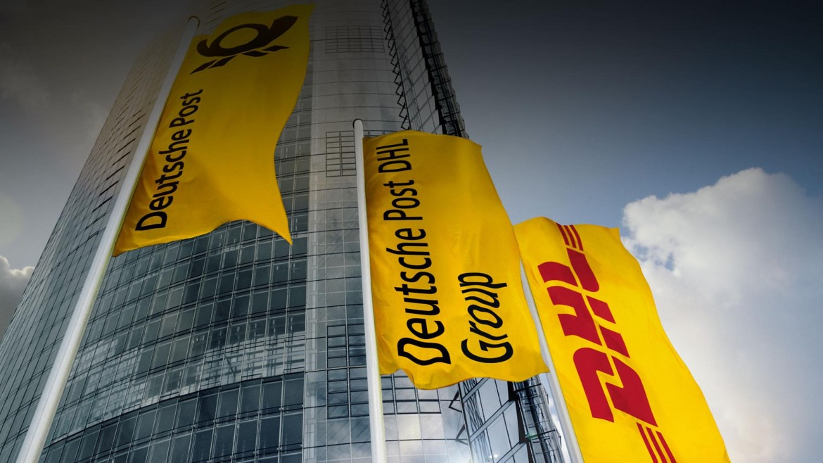 Deutsche Post Microsite Header