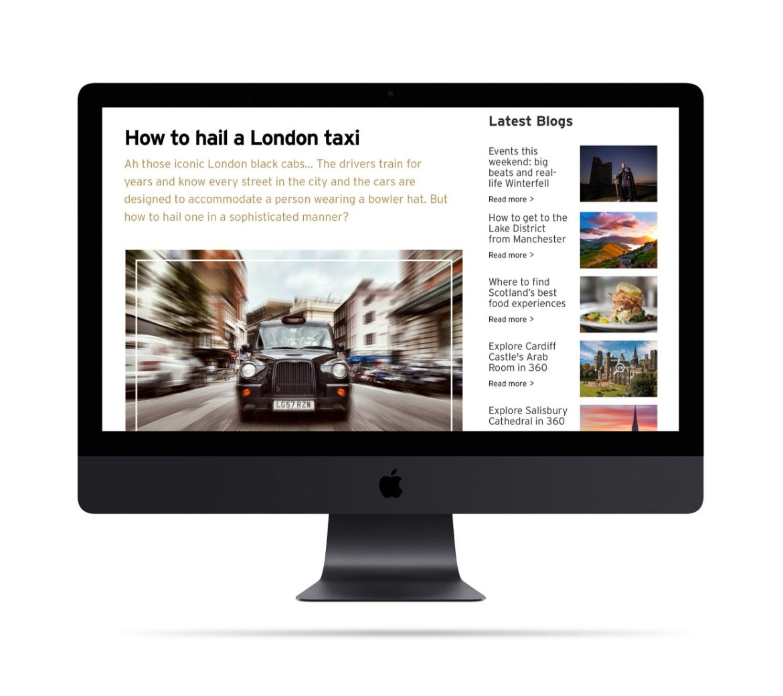 Visit Great Britain Kingsman Website Page Mobile-2