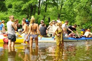 водный поход выходного дня
