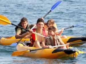 водный поход с детьми