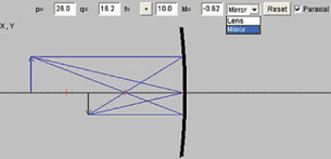 mirror ray diagram simulation smoke alarm wiring uk lesson 3 a used to generate diagrams for curved mirrors