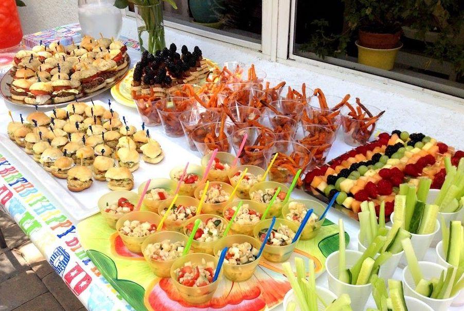 kids buffet kids party