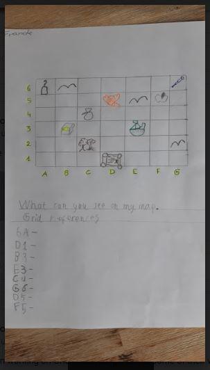 Then Franek made up his won map.