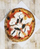 Echos Happy Hour Marg Pizza