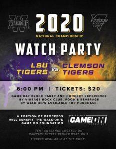 LSU Watch Party