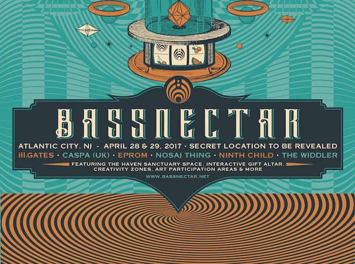 Bassnectar - Atlantic City, NJ