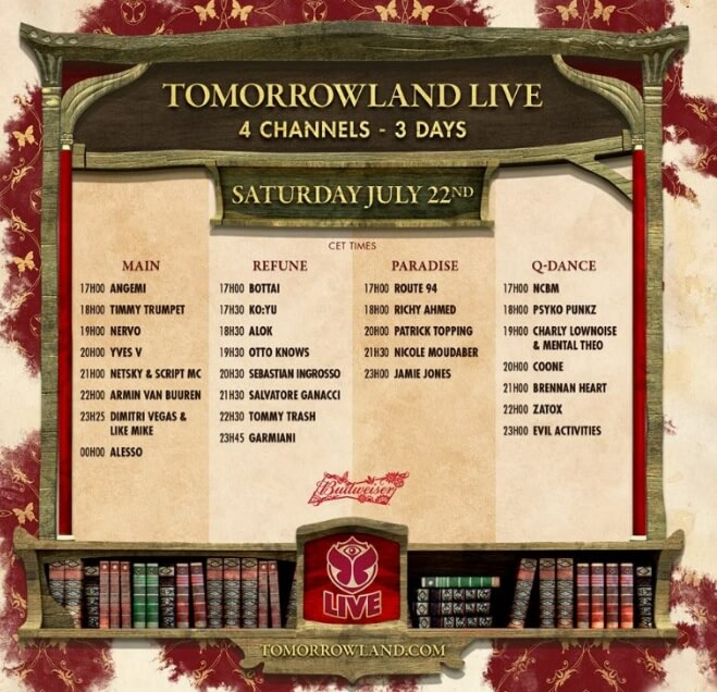 Watch Netsky, Armin Van Buuren, Alesso & More At Tomorrowland Day Two